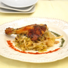 Thumbnail image for Roast duck with sour cabbage