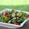 Thumbnail image for Arugula with strawberries & almonds