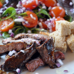 Thumbnail image for Salad with balsamic glazed beef
