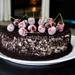 Thumbnail image for Oreo, cherries & mascarpone cake