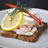 Thumbnail image for Shrimps and boiled egg sandwich