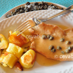 Thumbnail image for Turkey scallopine with lemon and capers sauce