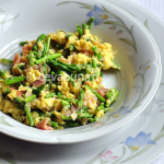 Thumbnail image for Omelette with wild asparagus