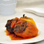Thumbnail image for Porcini stuffed peppers