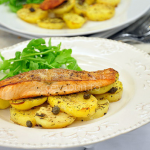 Thumbnail image for Salmon with thyme and capers