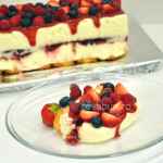 Thumbnail image for No-bake white chocolate cheesecake