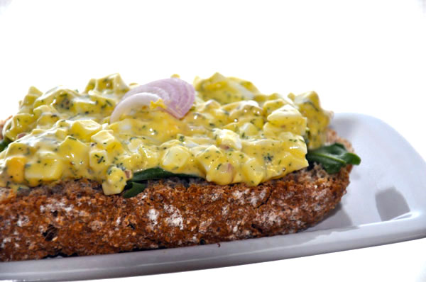 Post image for Egg salad sandwich