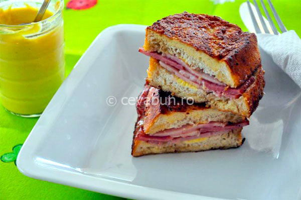 Post image for Stuffed French toast with smoked ham