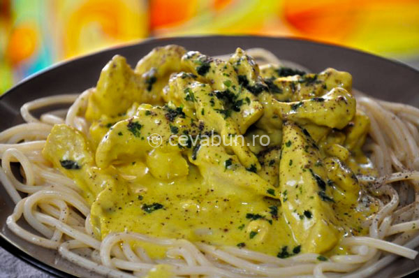 Post image for Turkey in marjoram and mustard sauce