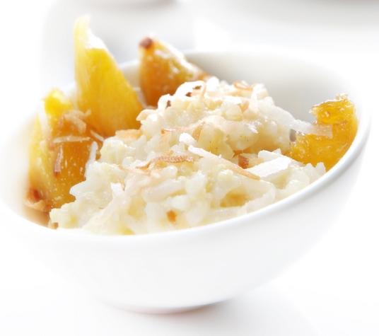 budinca de orez cu mango