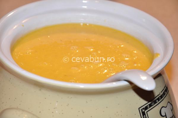 Supa cremă de păstârnac