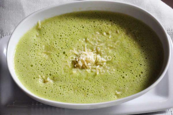 Articole culinare : Supă cremă de mazăre cu ţelină