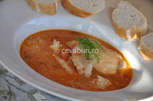 Supa pescarului din Oostende