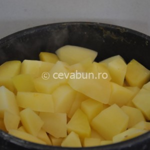 Fierbeţi cartofii