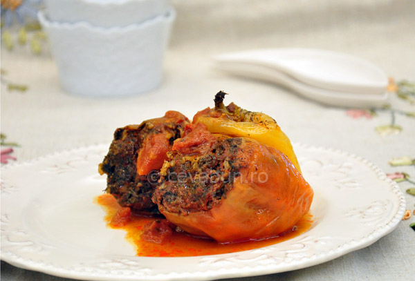 Post image for Porcini stuffed peppers
