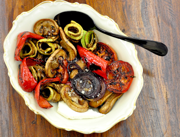 Post image for Grilled vegetables salad