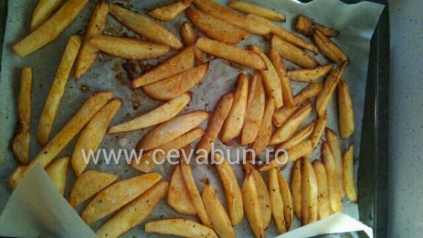 cartofi picanţi la cuptor