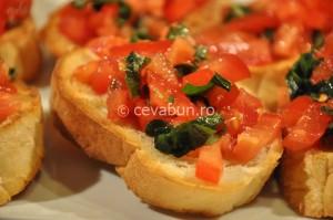 Bruschetta con pomodoro