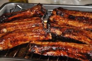 Costițe de porc la grătar