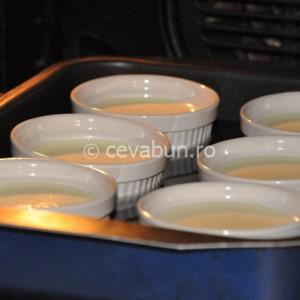 Băgați crema la cuptor