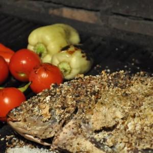 Puneți și legumele pe grătar