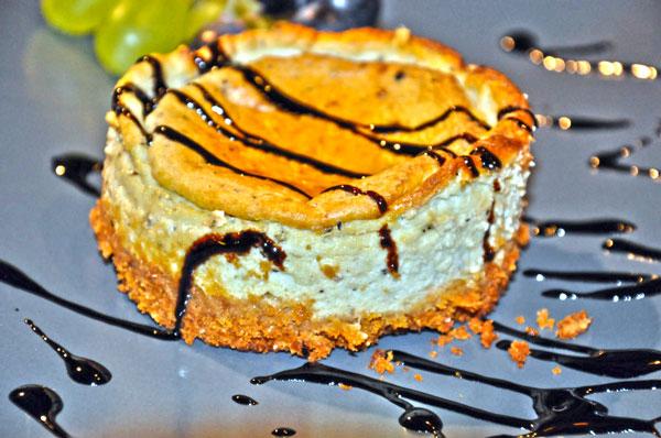 Cheesecake cu gorgonzola